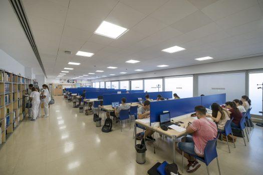 Horarios de las Bibliotecas durante los exámenes de PEvAU (antigua Selectividad)