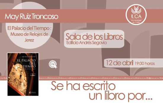 Se ha escrito un libro por… May Ruiz Troncoso
