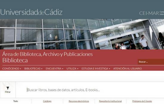 La Biblioteca de la UCA estrena nueva página web
