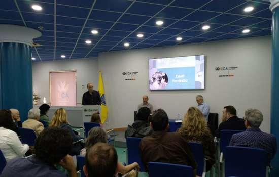 """Presentado el libro de David Fernández """"Como grano de mostaza"""""""