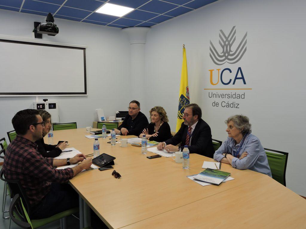Reunión con el Ayuntamiento de Vejer de la Frontera