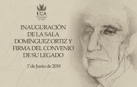 La UCA recibe el fondo bibliográfico y documental personal del historiador andaluz Antonio Domínguez Ortiz