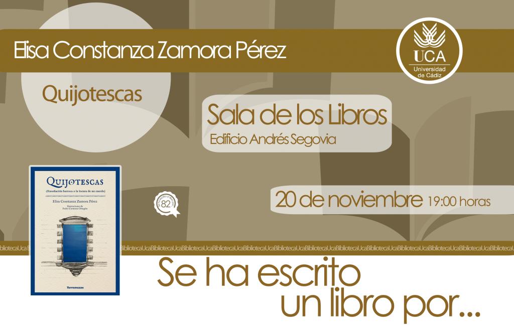 Se ha escrito un libro por… Elisa Constanza Zamora Pérez