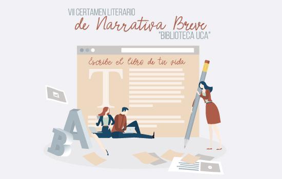 """Convocado el VII Certamen Literario de Narrativa Breve """"Biblioteca UCA"""""""
