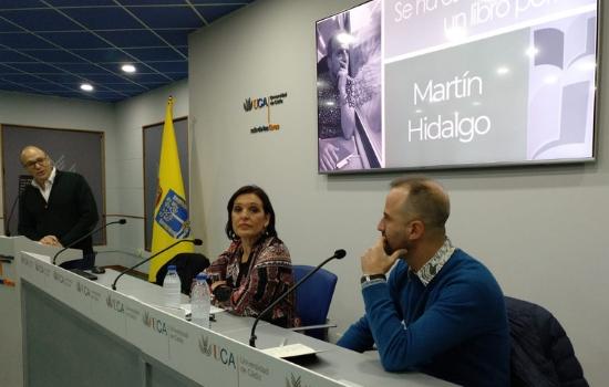 """Presentado el libro de Martín Hidalgo """"16:35:50, una geografía simultánea"""""""