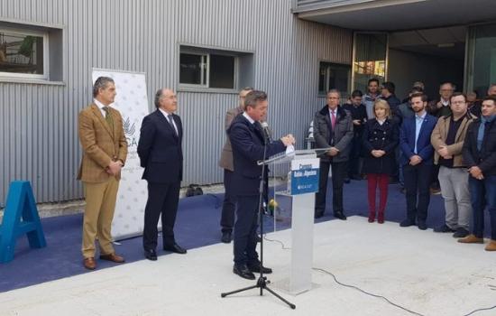 Avanzan las obras de la nueva Biblioteca del Campus Bahía de Algeciras