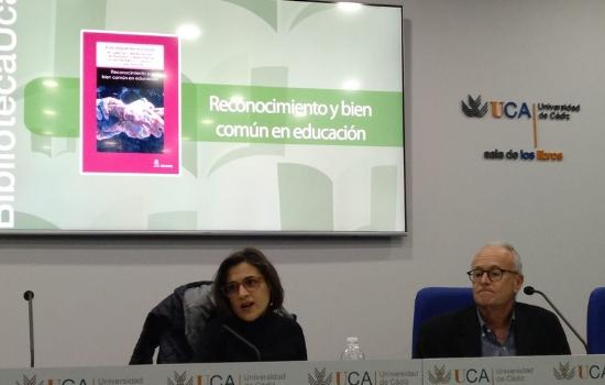 """Presentado el libro coordinado por Rosa Vázquez Recio """"Reconocimiento y bien común en educación"""""""