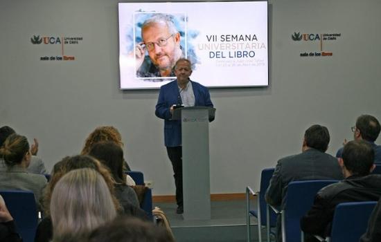 Juan José Téllez inaugura la VII Semana Universitaria del Libro de la UCA
