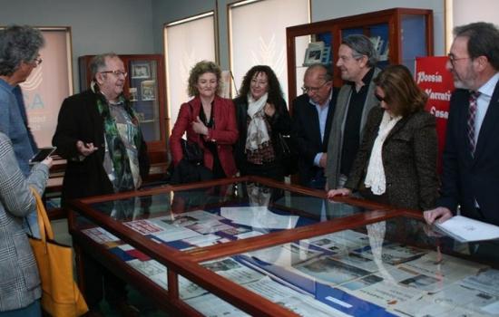 Inaugurada la exposición 'Juan José Téllez: desde el borde de la duda'