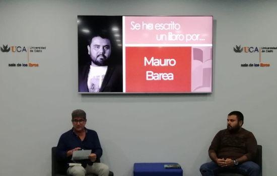 """Presentado el libro de Mauro Barea """"Terra incognita"""""""
