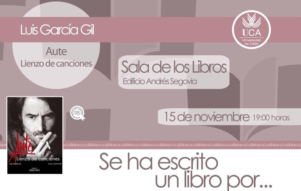 Se ha escrito un libro por… Luis García Gil