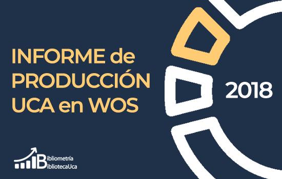 Publicado el Informe sobre la producción de la UCA 2018 en Web of Science