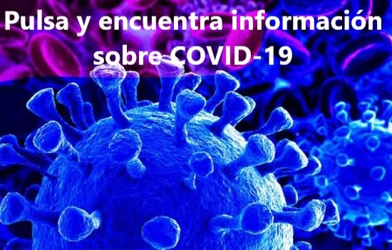 IMG Información actualizada sobre Covid-19 en nuestro Buscador