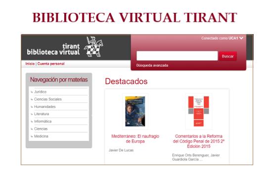 IMG Nueva plataforma digital de libros y revistas de Tirant Lo Blanch