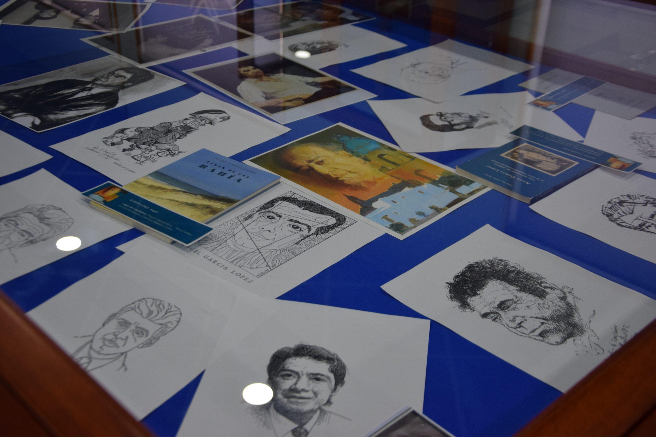 Exposición sobre la obra literaria del escritor gaditano Ángel García López