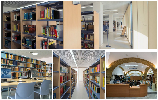 Salas de lectura de las Bibliotecas de Cádiz y Puerto Real también clausuradas temporalmente.