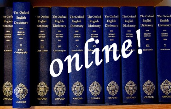 IMG Accede online a Oxford English Dictionary