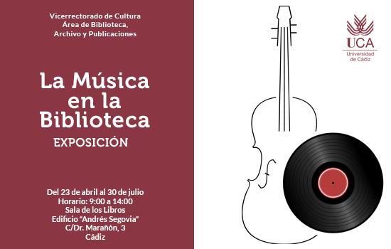 IMG Exposición La música en la Biblioteca