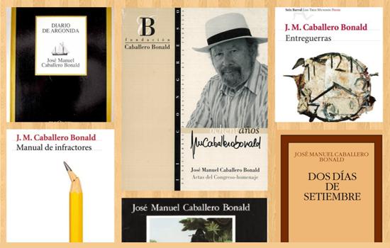 IMG Caballero Bonald: su obra en nuestra biblioteca