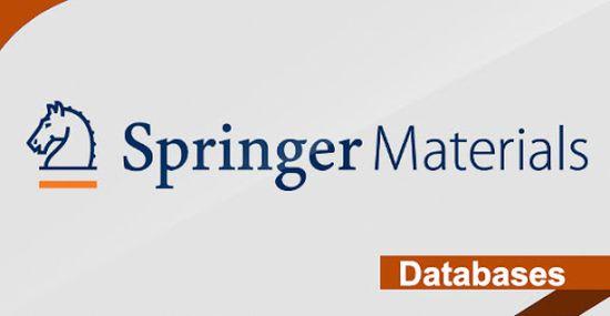 SpringerMaterials: nuevo recurso a prueba