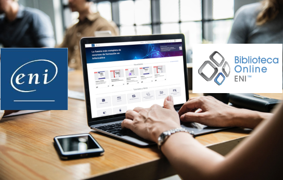 IMG ENI: plataforma de libros electrónicos sobre informática