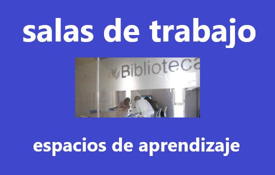 IMG Salas de trabajo disponibles en la Biblioteca.
